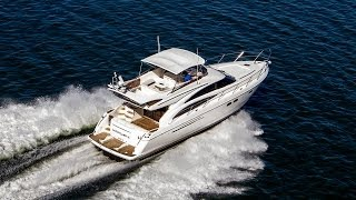 2007 Viking 57' Sport Cruiser Princess Flybridge Yacht