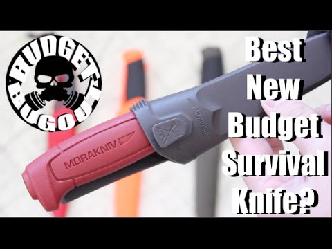 Best New Budget Survival Knife? New $9 Fixed Blade Mora Knife! | Morakniv Basic 511 Carbon Steel