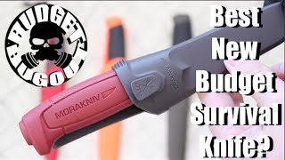 Best New Budget Survival Knife? New $9 Fixed Blade Mora Knife! | Morakniv Basic 511 Carbon Steel