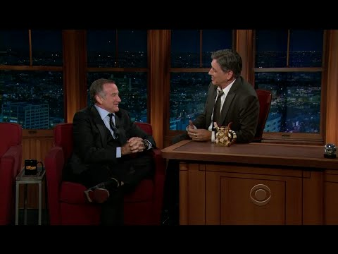Late Late Show with Craig Ferguson 11/17/2011 Robin Williams