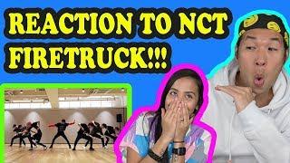 NCT 127 - Fire Truck DANCE PRACTICE REACTION VIDEO!!!