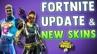 FORTNITE NEW SECRET AGENT SKINS - UPDATE 3.6 PATCH NOTES - Fortnite Battle Royale