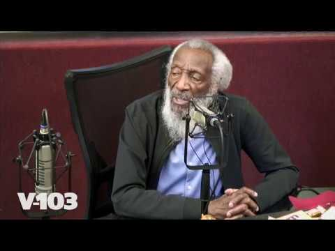 Comedian/Social Activist Dick Gregory In Studio With Ryan & Wanda