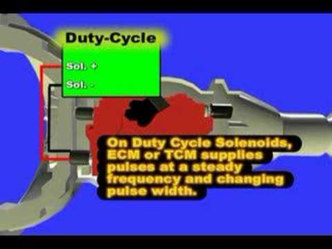 Transmission Shift Solenoid - YouTube