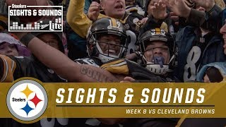 Sights & Sounds from an Emotional Win vs. Cleveland | Pittsburgh Steelers