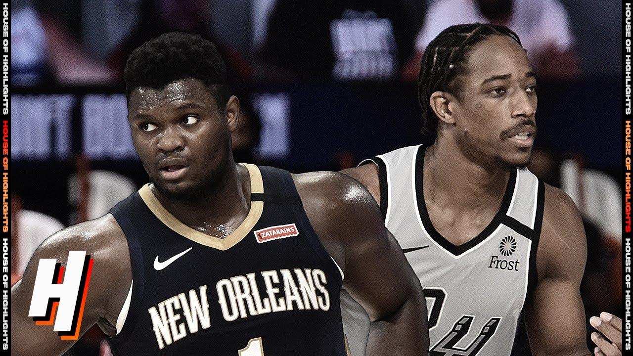 San Antonio Spurs vs New Orleans Pelicans - Full Game Highlights | August 9 | 2019-20 NBA Season
