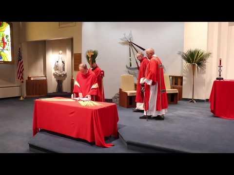 St Andrew the Apostle Palm Sunday Mass