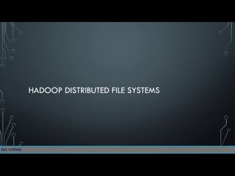 Hadoop distributed file systems