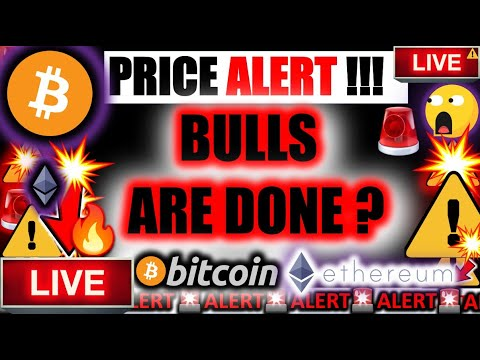 *URGENT* BITCOIN \u0026 ETHEREUM BULLS ARE DONE?!!! ⚠️ Crypto TA Today/ BTC ETH \u0026 Cryptocurrency News Now
