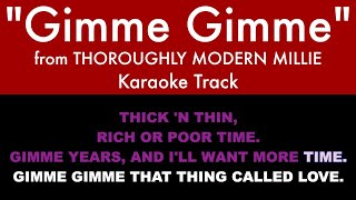 """Download """"Gimme Gimme"""" from Thoroughly Modern Millie - Karaoke Track with Lyrics on Screen"""