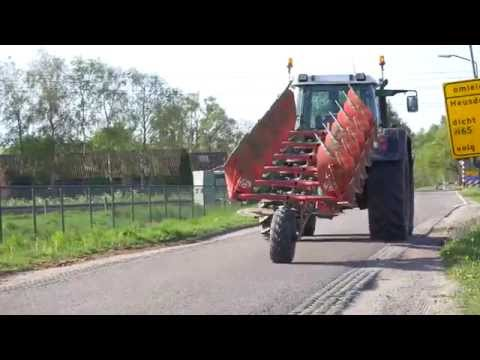 Kverneland 2500 i-Plough Transport to Perfect Ploughing in Record Times