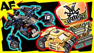 The BAT vs BANE TUMBLER CHASE 76001 Lego Batman DC Superheroes Stop Motion Build Review