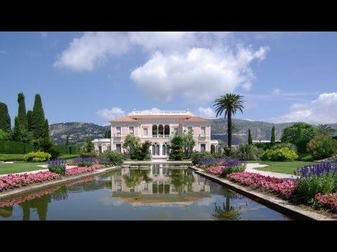 Villa Ephrussi de Rothschild à St Jean Cap Ferrat et ses fontaines musicales