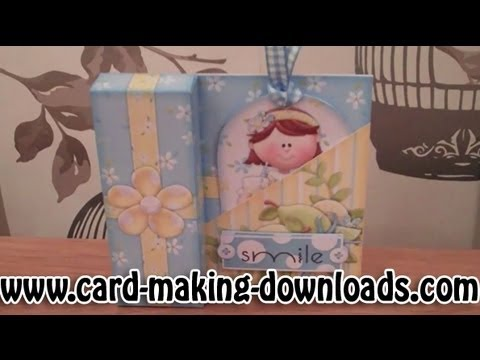 How To Make A Gift Box Card By www card making downloads com