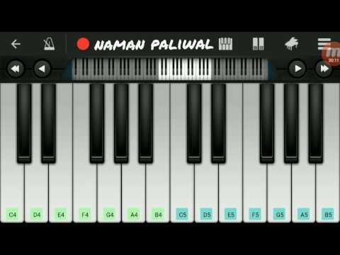 Half Girlfriend Love Theme Basic Mobile Piano Tutorial