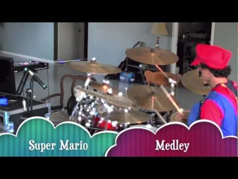 Super Mario Plays Drums *Drum Cover* HD