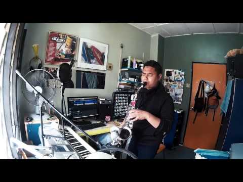 Di Sini Lahirnya Sebuah Cinta (Saxophone Cover) by Danial Faris