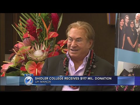 Shidler College of Business donation aims to produce billions in steady income