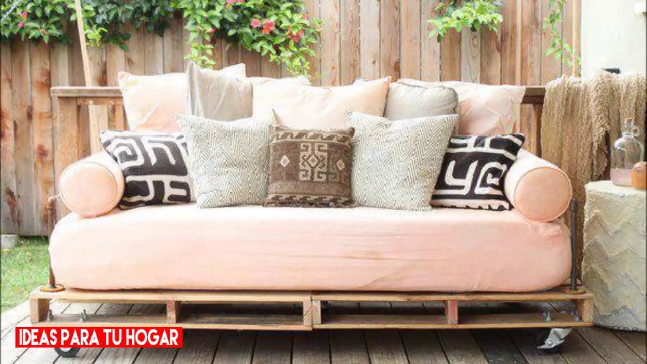 40 ideas de muebles hechos con tarimas parte 1 ideas On muebles hechos con tarimas