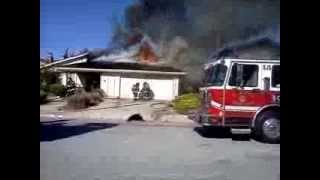 Almaden Valley South San Jose house burned down--part 1