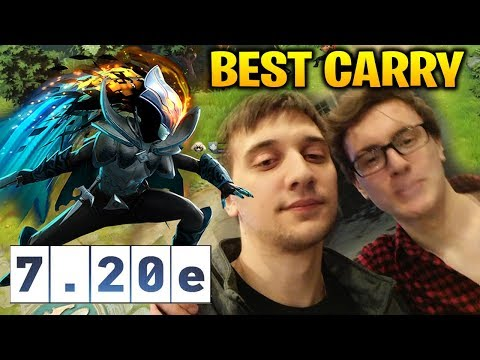 MIRACLE and ARTEEZY Plays PA in Dota 2 7.20e