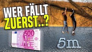 WER zuletzt ins WASSER fällt, bekommt 1000€ 😱💶