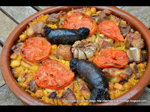 Receta de arroz al horno valenciano muy f cil youtube for Cocinar berenjenas facil