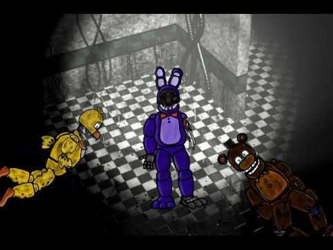 [DC2/FNaF 2 Animation] Old Bonnie Jumpscare