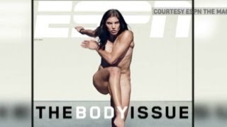 Athletes get naked for 'ESPN the Magazine'