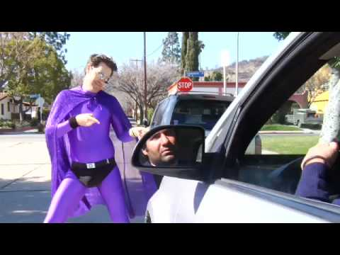 Purple Man: Start Your Engine
