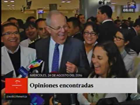 América Noticias Primera Edición 24-08-16 Titulares