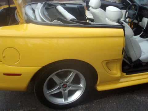 1995 Supercharged 50 Ford Mustang GT Convertible for sale at LW