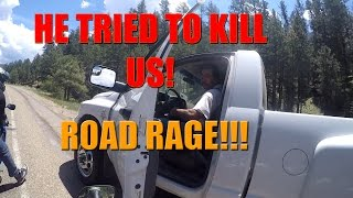 Truck Vs Motorcycles ROAD RAGE!
