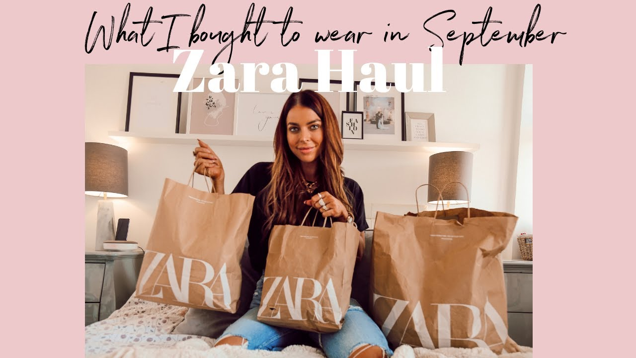 Zara Haul | Outfits to wear in September | Summer to Autumn Styling 2