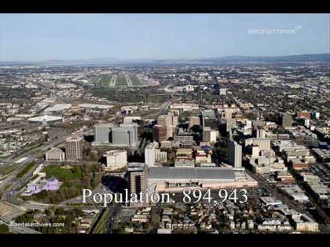 Top 20 Largest US Cities (By Population via 2000 Census Bureau)