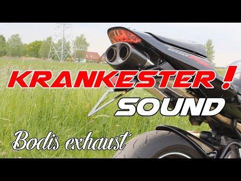 KRANKESTER SOUND !  Bodis Exhaust - Honda CBR 600 RR