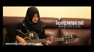 Gambar cover sayang sampai mati by republikcover by justcallrosse