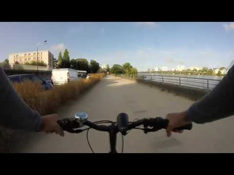 Bike ride in Nantes, France
