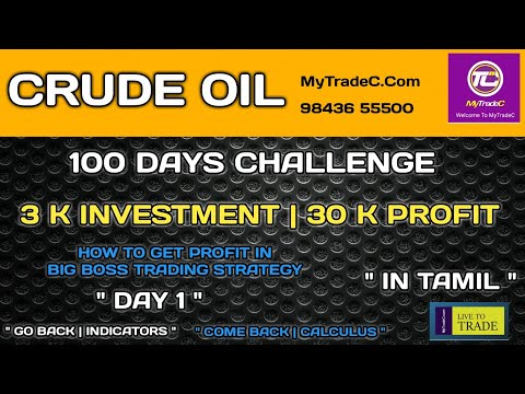 CRUDEOIL || 100 DAYS CHALLENGE IN TAMIL || 10 DAYS WORKOUT || LR.