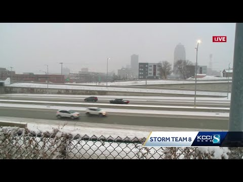 DSM Police Respond To 33 Weather-related Crashes Overnight