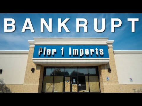 Bankrupt - Pier 1 Imports