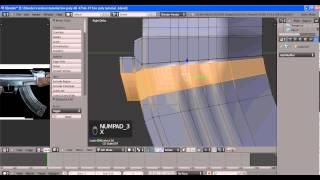 Видео урок low poly АК 47 часть 1(1)