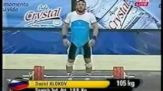 2006 World Weightlifting 105 Kg