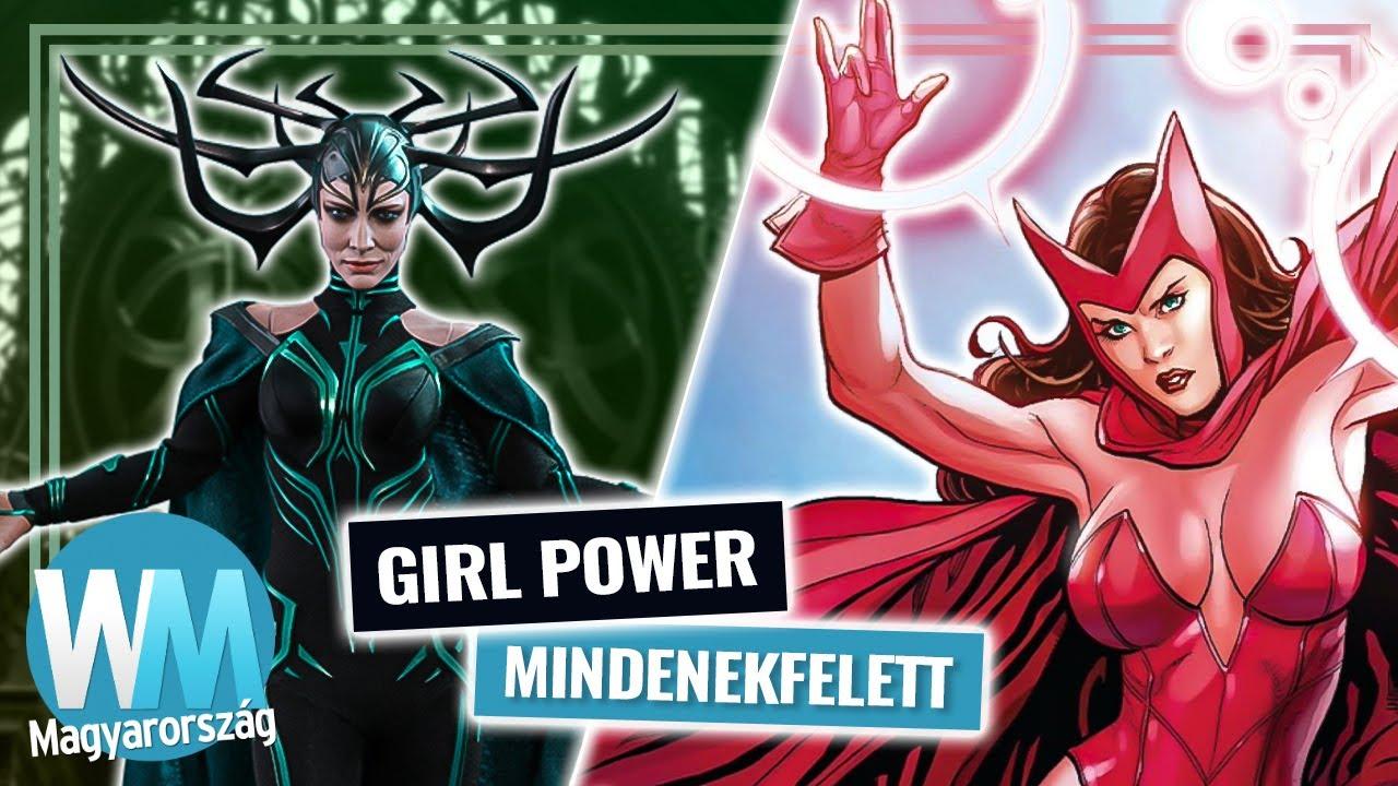 Top 10 legerősebb női Marvel karakter