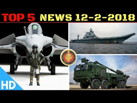 Indian Defence Updates : Russia Upgrades Indian INS Vikramaditya, India's New Howitzer, Rafale Deal