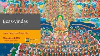 Boas-vindas a Lama Ganghen Rinpoche (outubro de 2019)