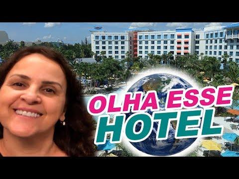 TOUR PELO HOTEL DA UNIVERSAL