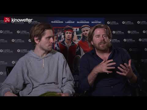Sverrir Gudnason and Janus Metz Pederse on meeting Roger Federer