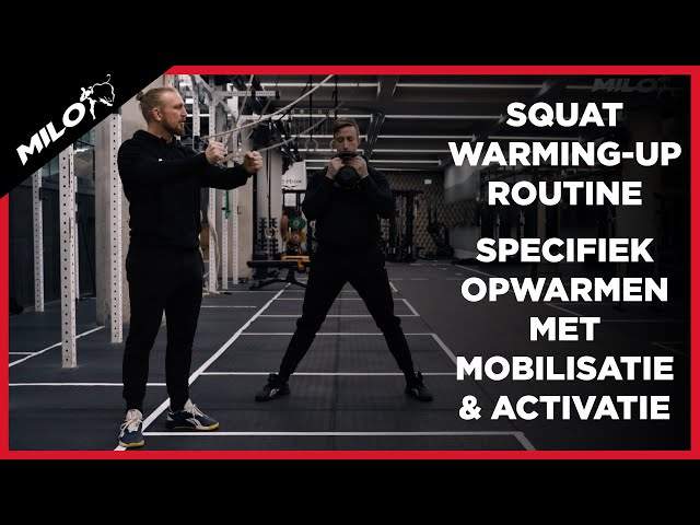Squat Warming-up routine