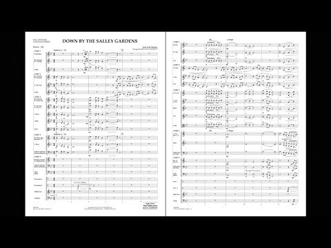 Down by the Salley Gardens arranged by Michael Sweeney